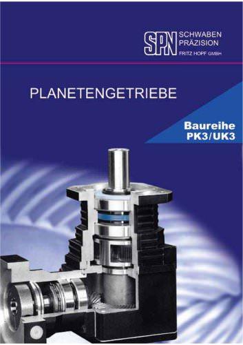 planetary gearboxes model range PK3