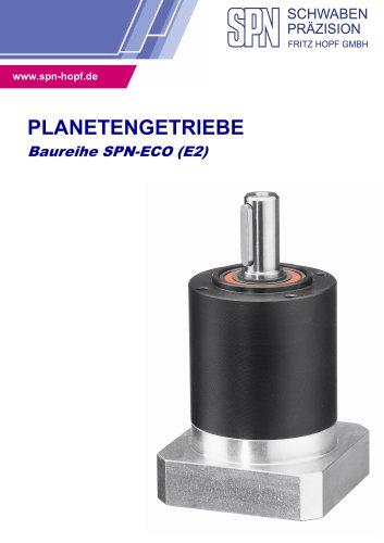 PLANETENGETRIEBE  Baureihe SPN-ECO (E2)