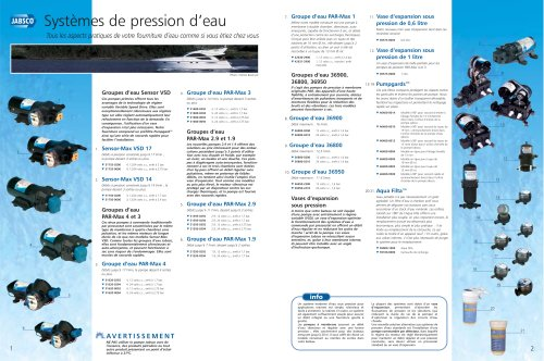 INTERNATIONAL Marine Product Brochure