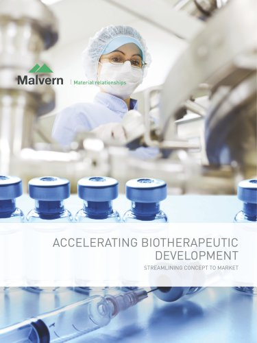 Accelerating Biotherapeutic Development