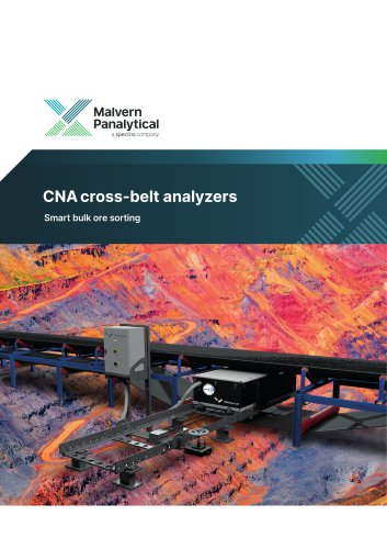 CNA³ cross-belt analyzer