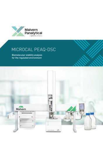 MicroCal PEAQ-DSC Automated