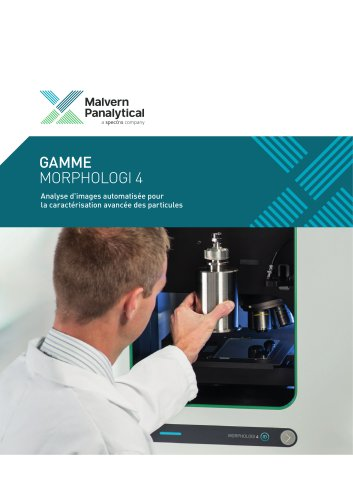Morphologi 4 Range - Automated imaging for advanced particle characterization