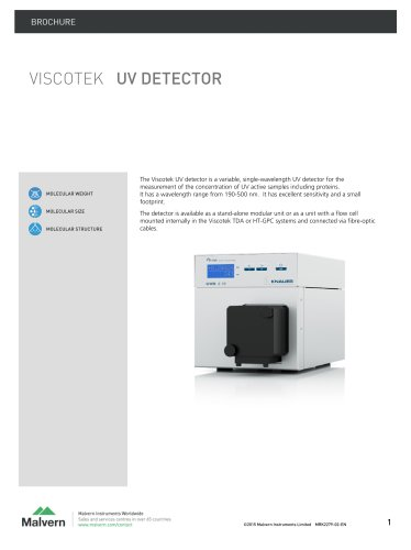 VISCOTEK UV Detector