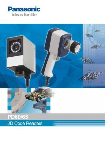 2D Code Reading Sensor PD60 / 65