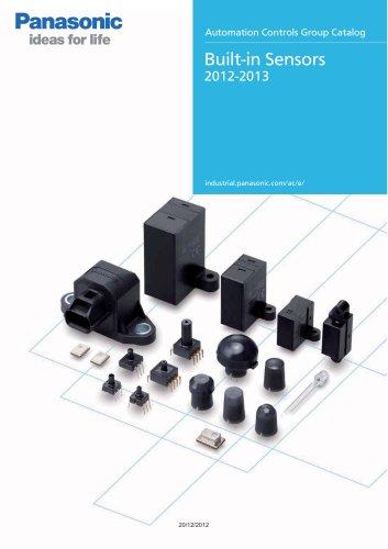 Catalog built-in sensors