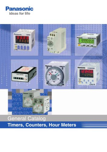 Catalog timers & counters