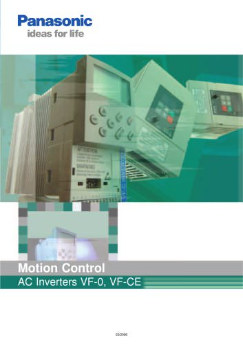 Motion Control AC Inverters VF-0, VF-CE