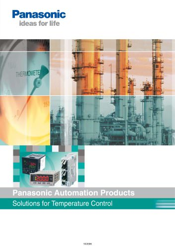 Panasonic Automation Products Solutions for Temperature Control