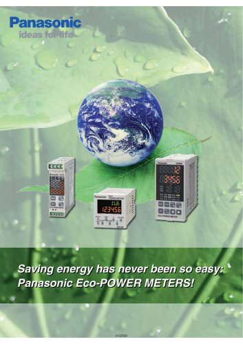 Saving energy with Eco-power meters