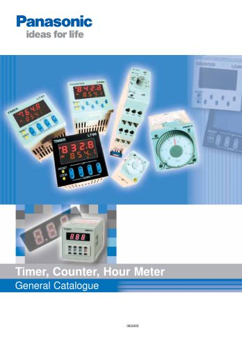 Timer, Counter, Hour Meter General Catalogue
