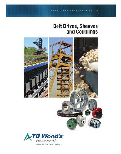 Belt Drives, Sheaves and Couplings