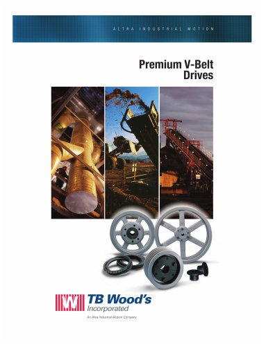 Premium V-Belt Drives Catalog