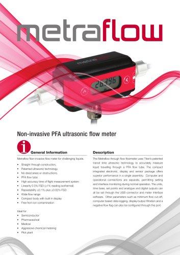 Metraflow Ultrasonic Flow Meter