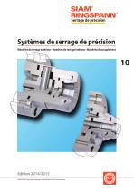 Systèmes de serrage de précision