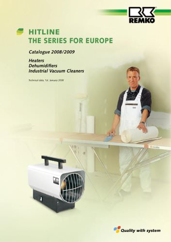 HITLINE - The series for europe 2008-2009