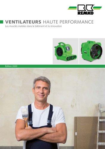 Ventilateurs haute performance