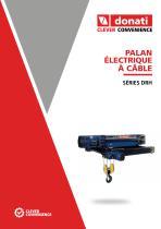 Palans électrique à càble – DRH Series - 1