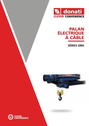 Palans électrique à càble – DRH Series