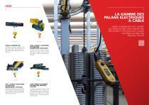Palans électrique à càble – DRH Series - 5