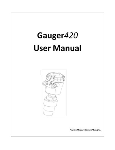 Gauger420 - User Manual