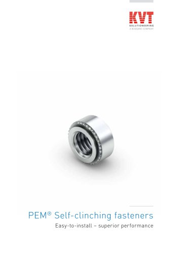 PEM Self-clinching fasteners