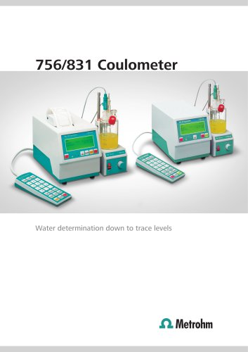 756/831 Coulometer