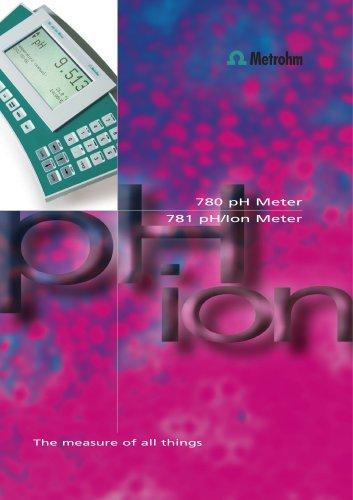 780 pH/ 781 pH Meter