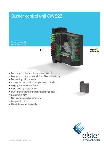 Burner control unit CM 222