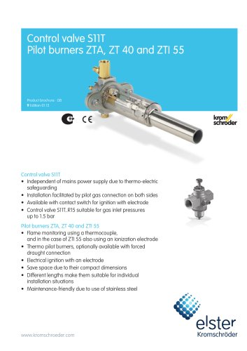 Control valves S11T