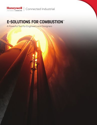 E-SOLUTIONS FOR COMBUSTION™