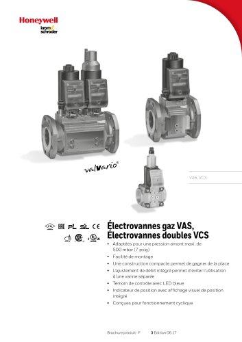 Electrovannes VAS, VCS