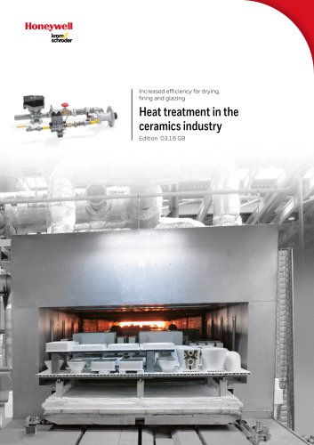Heat treatment in the ceramics industry