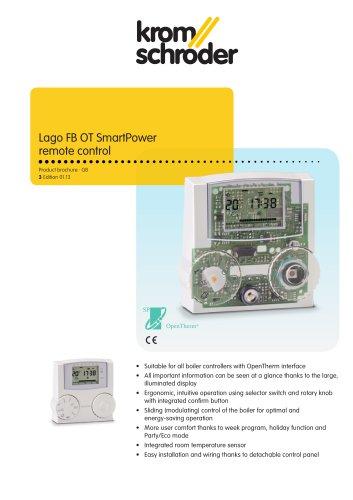 Lago FB OT SmartPower remote control