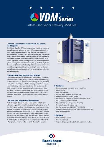 VDM Series Vapor Delivery Modules