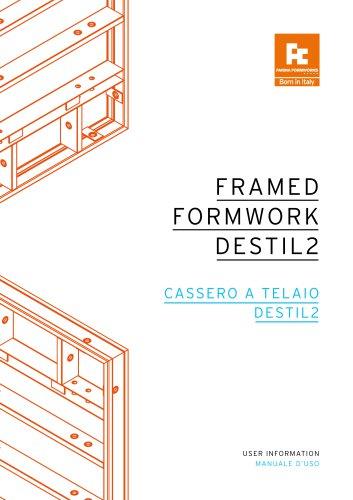FRAMED FORMWORK DESTIL2