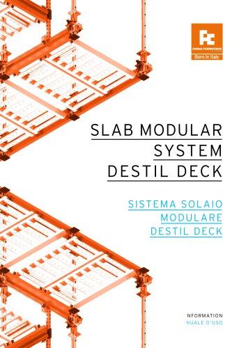 SLAB MODULAR SYSTEM DESTIL DECK