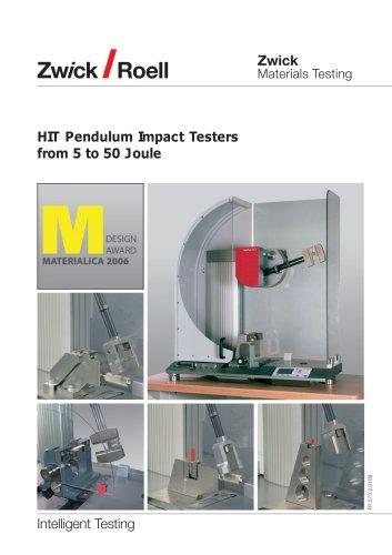 HIT Pendulum Impact Testers