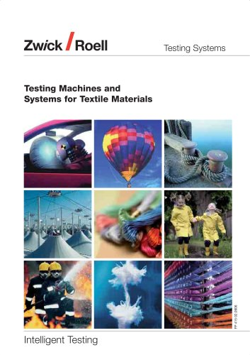 Testing Machines and Systems for textile materials