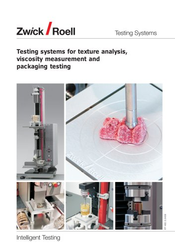 Testing systems for foodstuffs and packaging