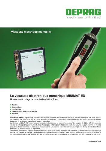 La visseuse électronique numérique MINIMAT-ED