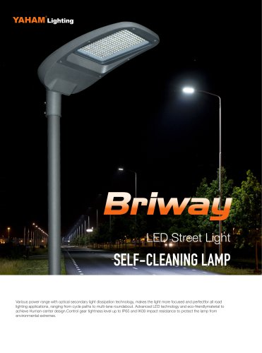 Briway LED street light