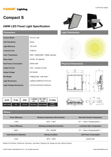 Compact S 240W LED