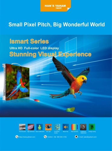 YAHAM/Ismart Series LED display/requirements for the conference room, information display.