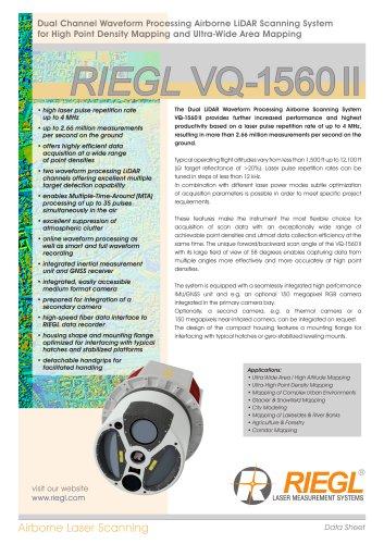 RIEGL VQ-1560 II