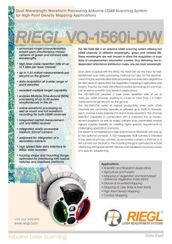 RIEGL VQ-1560i-DW