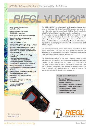 RIEGL VUX-120