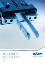 AUTOMATION TECHNOLOGY Catalogue 2017