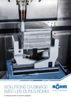 NEW Solutions d´usinage avec les outils RÖHM
