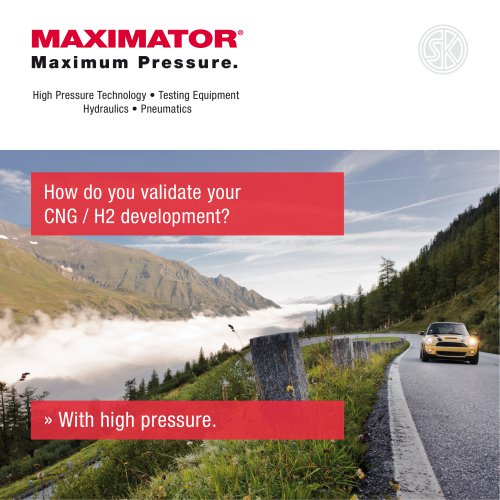 How do you validate your CNG / H2 development?